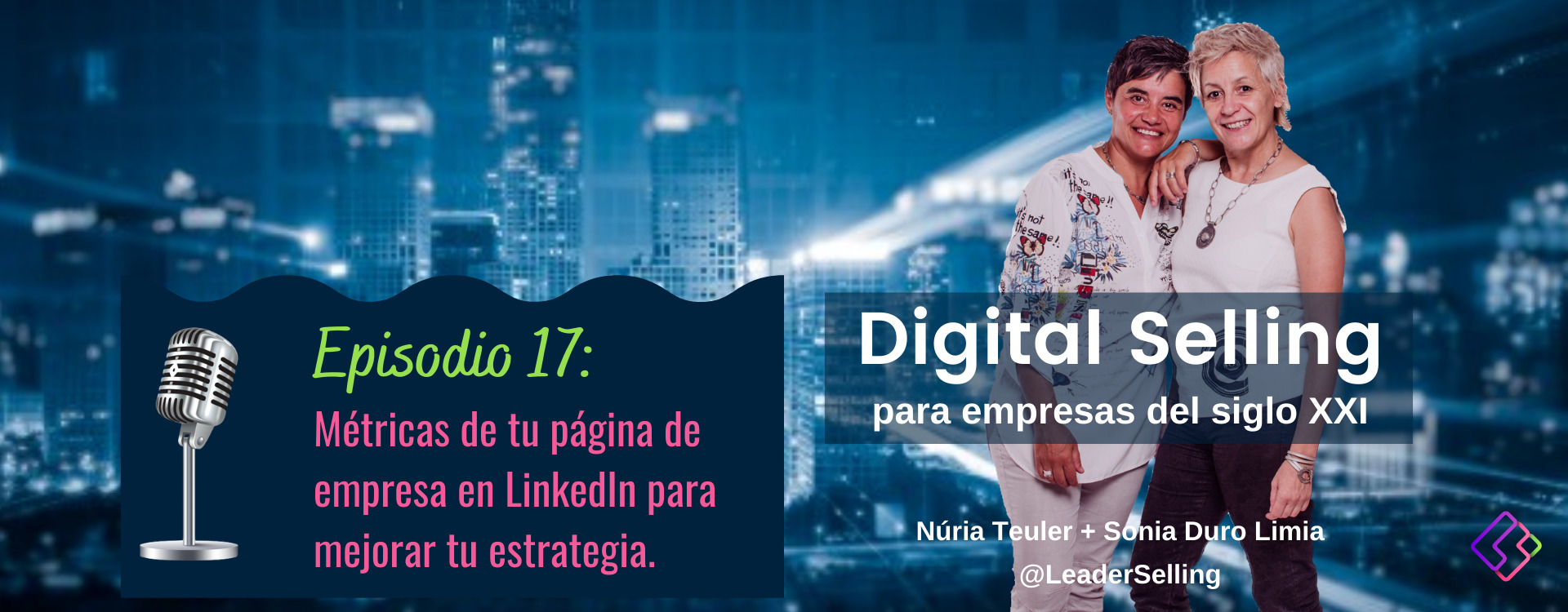 leader-selling-podcast-17-metricas-pagina-linkedin
