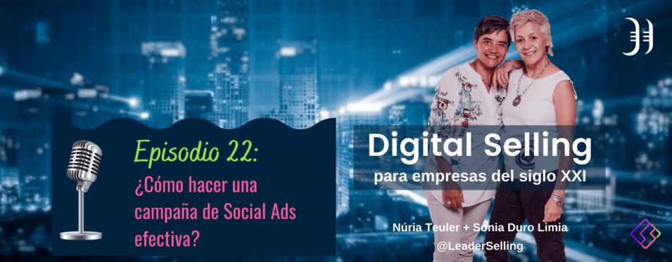 Leaderselling - Episodio 22. Fundamentos para crear una estrategia de social ads para tu empresa